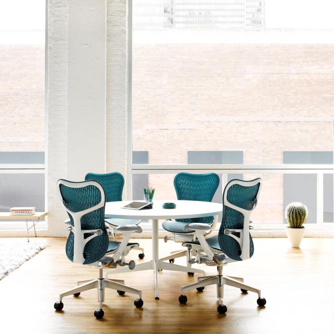 Cadeira ergonomica de escritorio HERMAN MILLER MIRRA 2