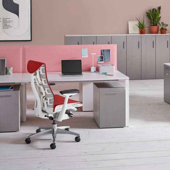 Cadeira ergonomica escritorio HERMAN MILLER EMBODY