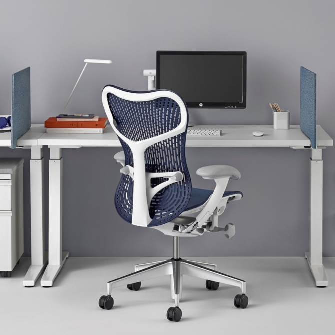 Cadeira ergonomica escritorio HERMAN MILLER MIRRA 2