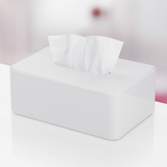 Caixa para lenços de papel Herman Miller Formwork Tissue