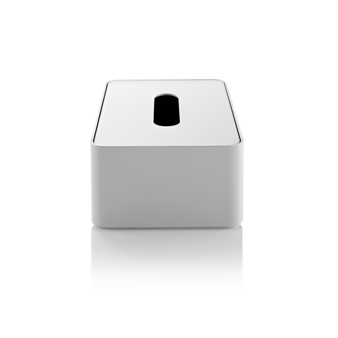 Caixa para lenços de papel Herman Miller Formwork Tissue Box branco