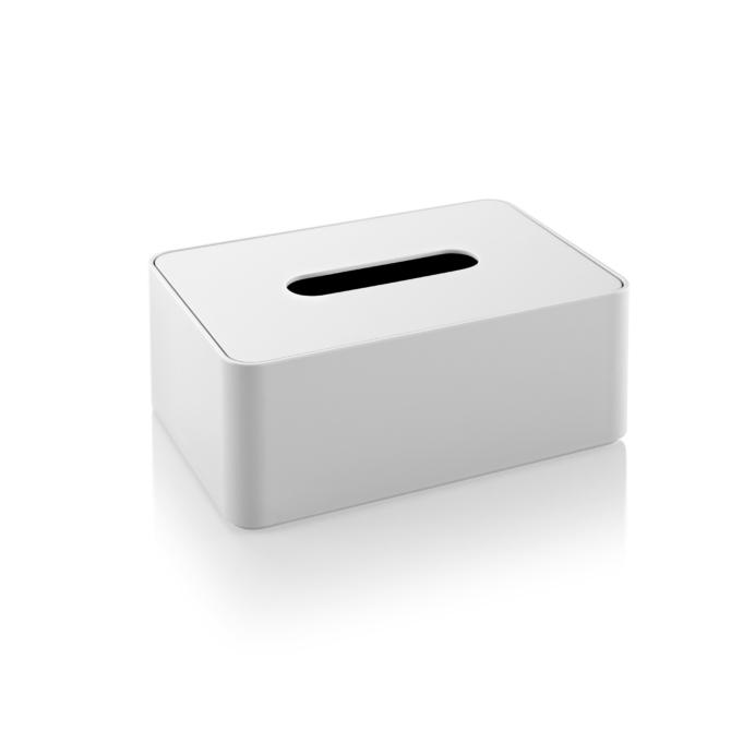 Caixa para lenços de papel branco Herman Miller Formwork Tissue