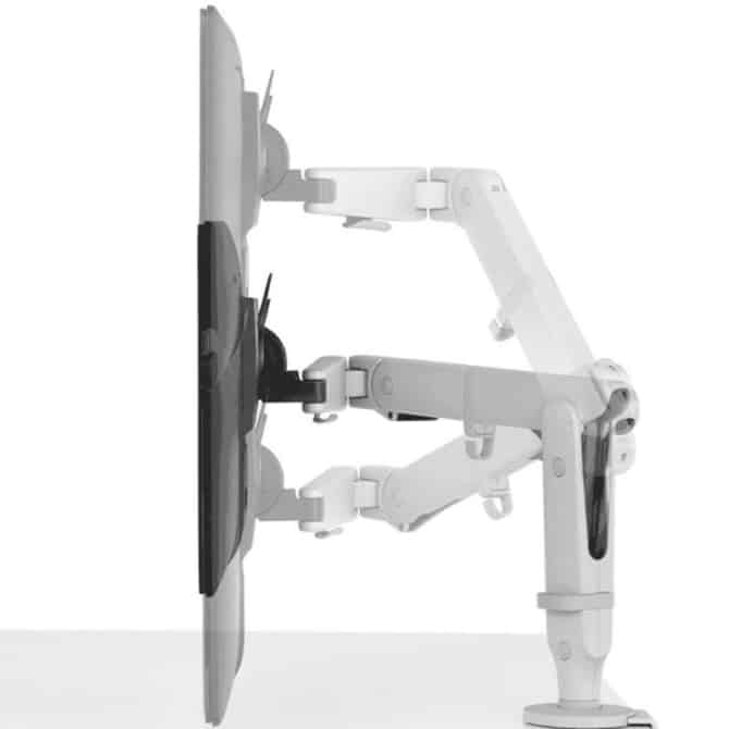 Ollin Single Arm Support White 2