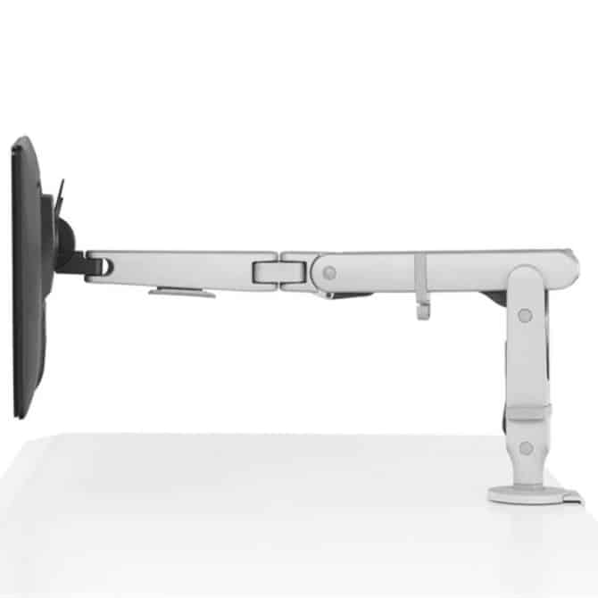 Ollin Single Arm Support White 3