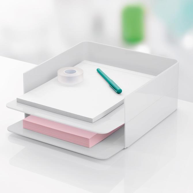 Tabuleiro de secretaria Herman Miller Formwork Paper Tray