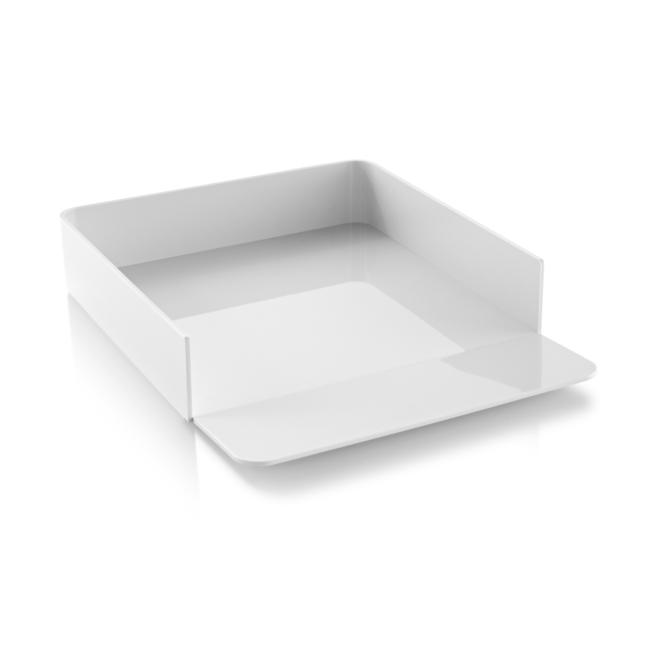 Tabuleiro de secretaria Herman Miller Formwork Paper Tray concret