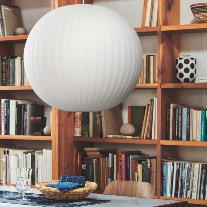 Nelson Ball Bubble Pendant Herman Miller