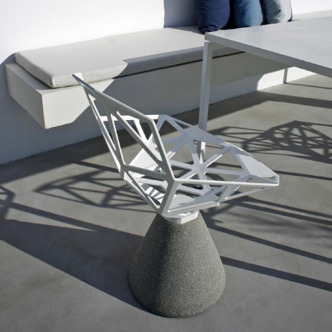MAGIS Chair One Concrete Base detail