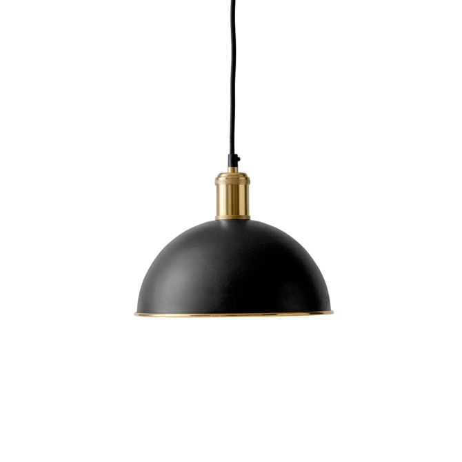 MENU Hubert Pendant bronzed scaled
