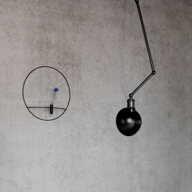 MENU Hudson Ceiling Wall Lamp detail scaled