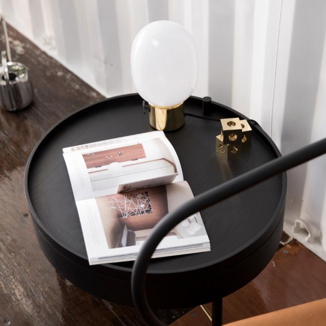 MENU JWDA Metallic Lamp Black lounge scaled