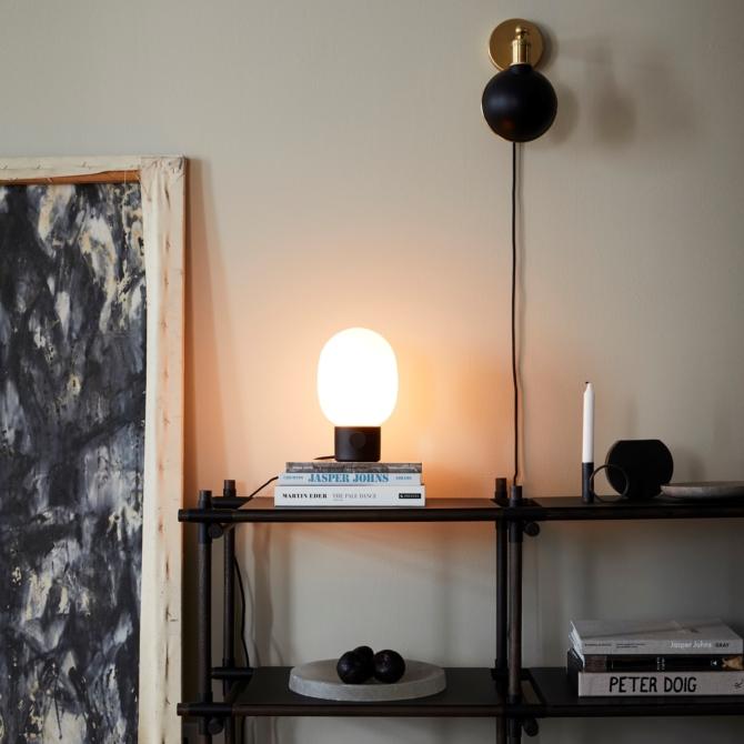 MENU JWDA Metallic Lamp Black room