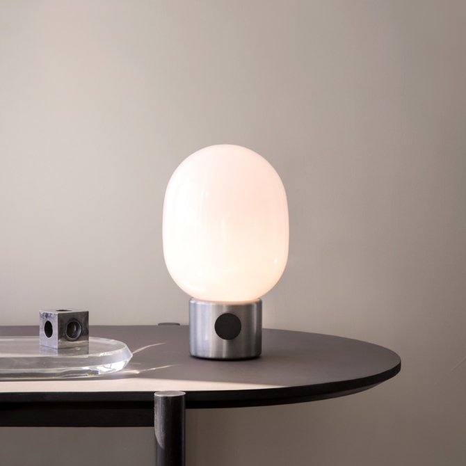 MENU JWDA Metallic Lamp Brused Steel light scaled
