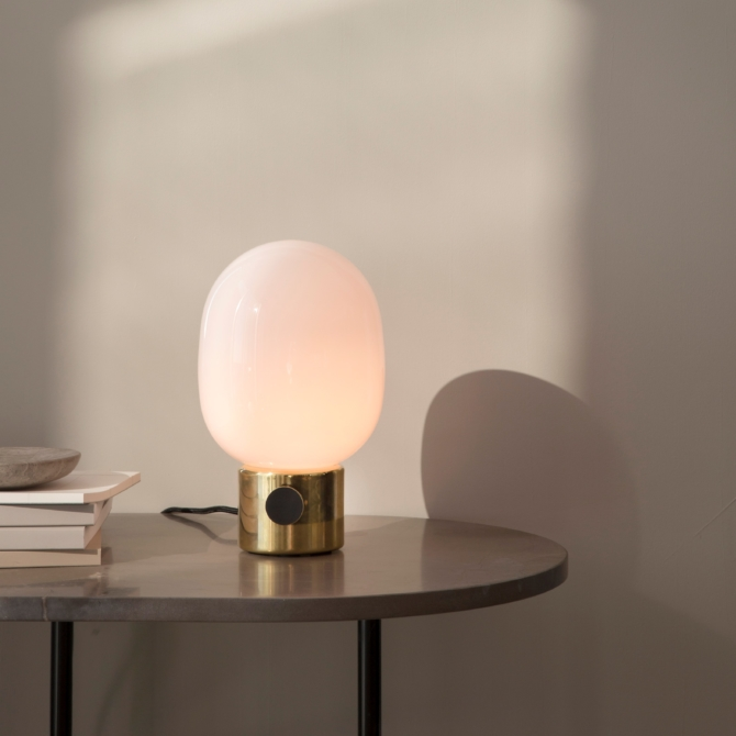 MENU JWDA Metallic Lamp Mirror Polished Brass light scaled