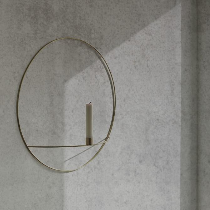 MENU POV Circle Candleholder detail