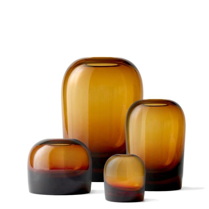 MENU Troll Vase Amber group scaled