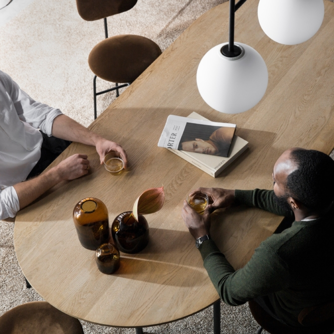 MENU Troll Vase Amber lounge scaled