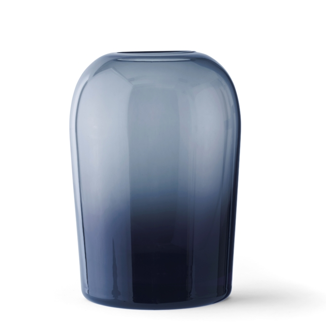 MENU Troll Vase Midnight Blue extra large scaled