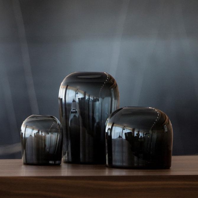 MENU Troll Vase Midnight Blue group