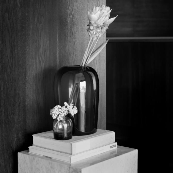 MENU Troll Vase Midnight Blue sepia scaled