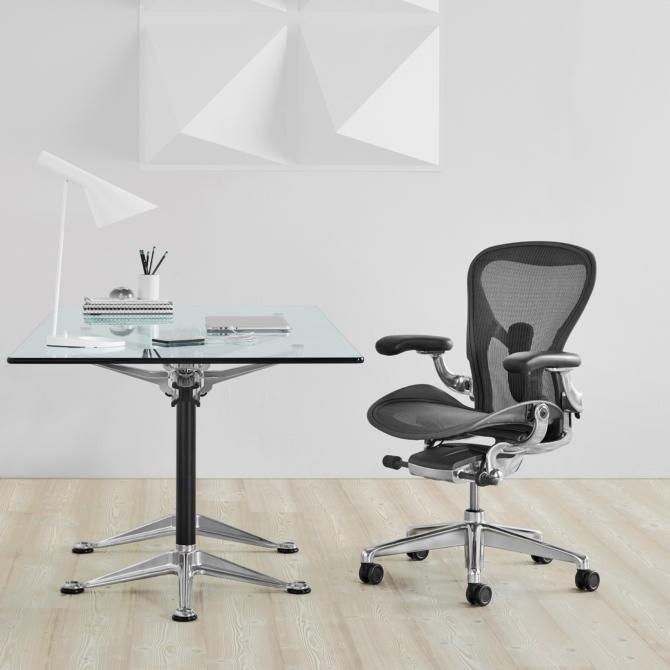 Cadeira ergonomica de escritorio HERMAN MILLER AERON