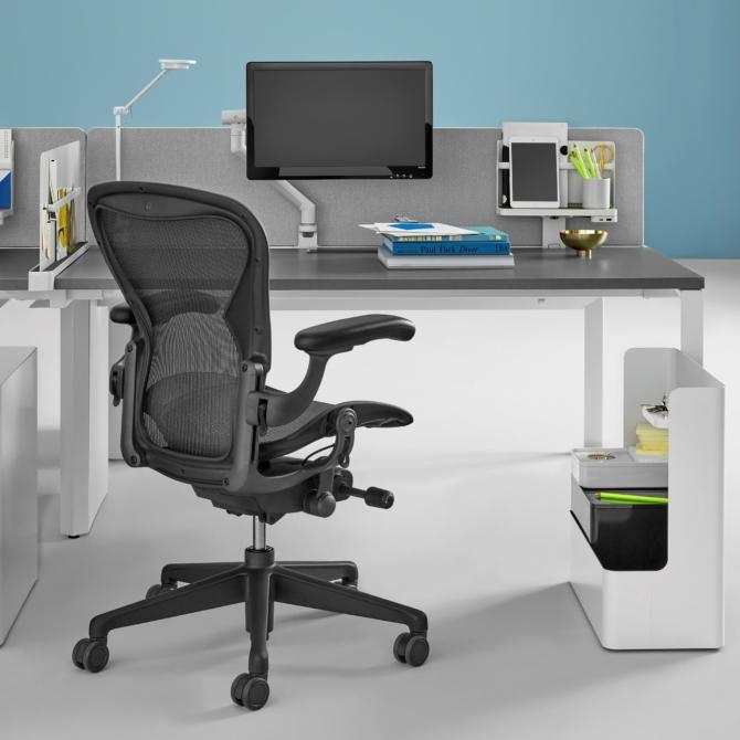 Cadeira ergonomica escritorio HERMAN MILLER AERON