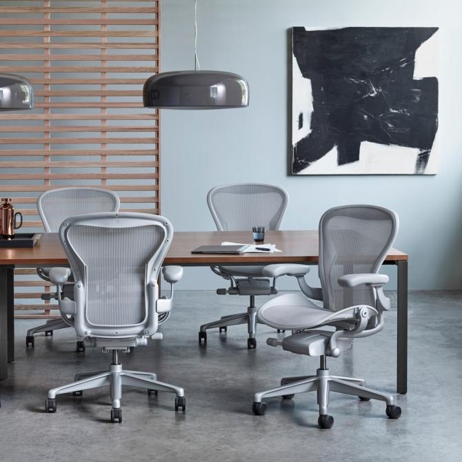 HERMAN MILLER AERON Cadeira ergonomica de escritorio