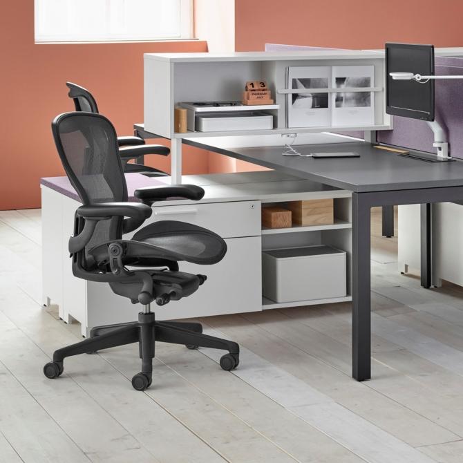 HERMAN MILLER AERON Cadeira ergonomica escritorio