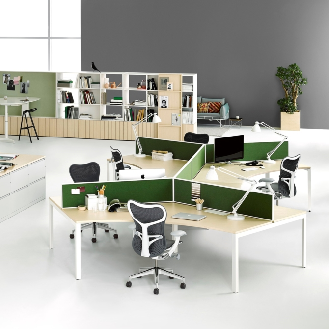 Layout Studio Secretaria Herman Miller