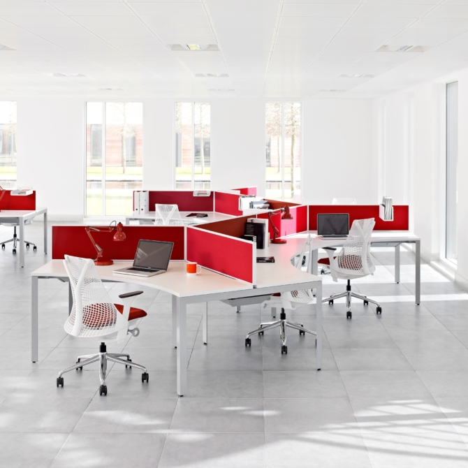Secretaria Herman Miller Layout Studio