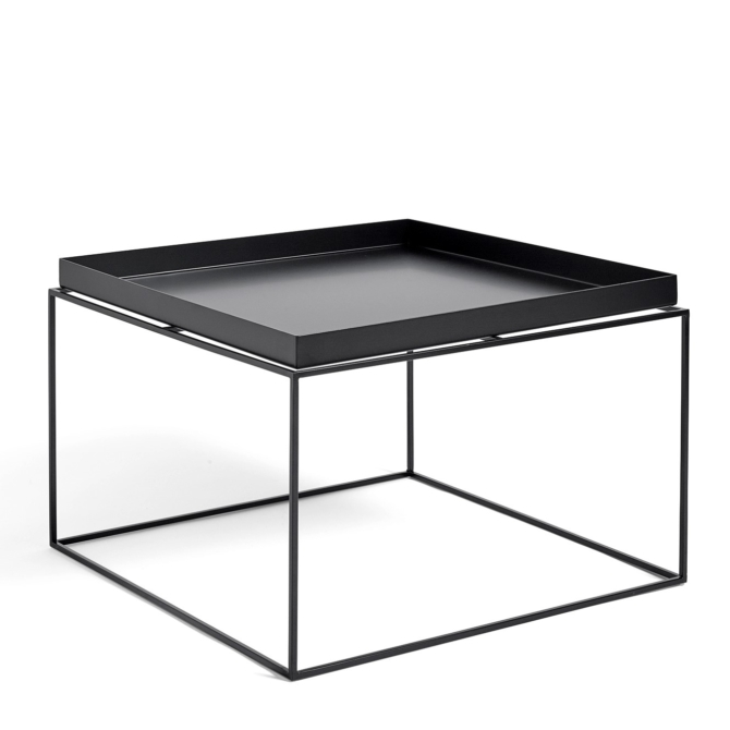 Mesa de apoio Hay Tray Table black