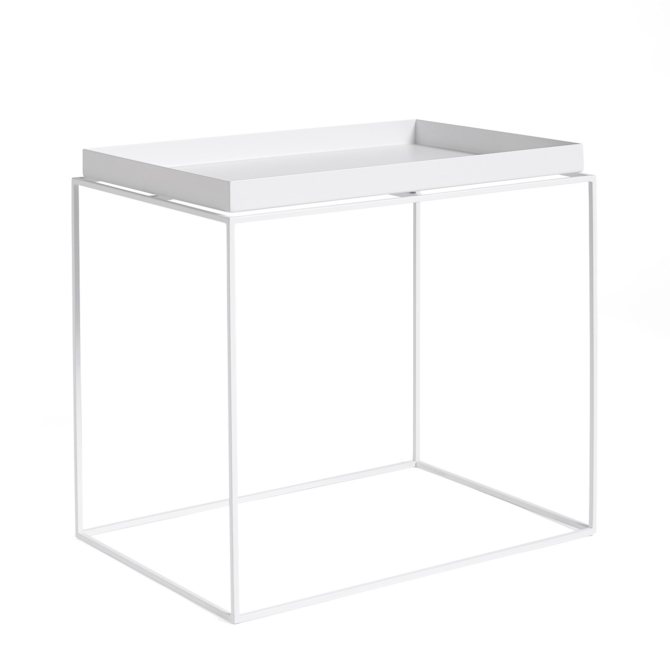Mesa de apoio Hay Tray Table white high