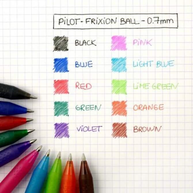 Pilot Pen Frixion Ball 1