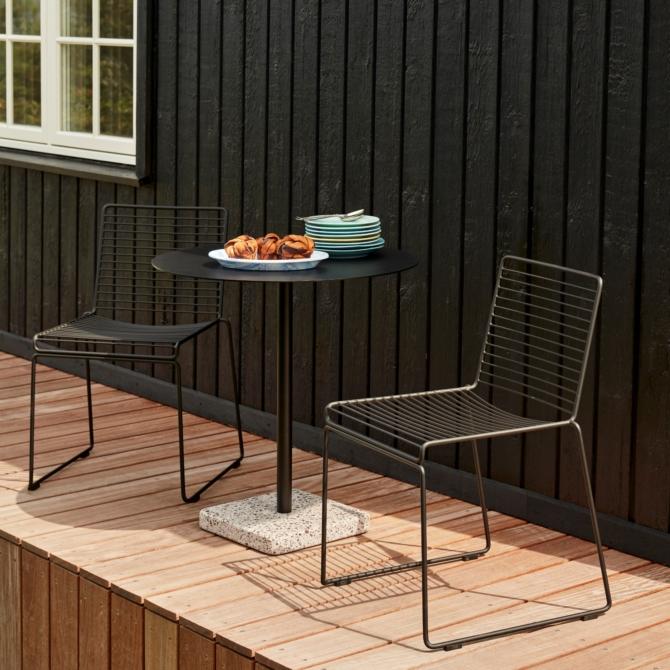 Hay HEE Dining Cadeira de jardim