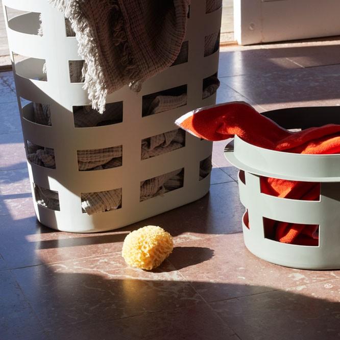Hay Laundry Basket grey