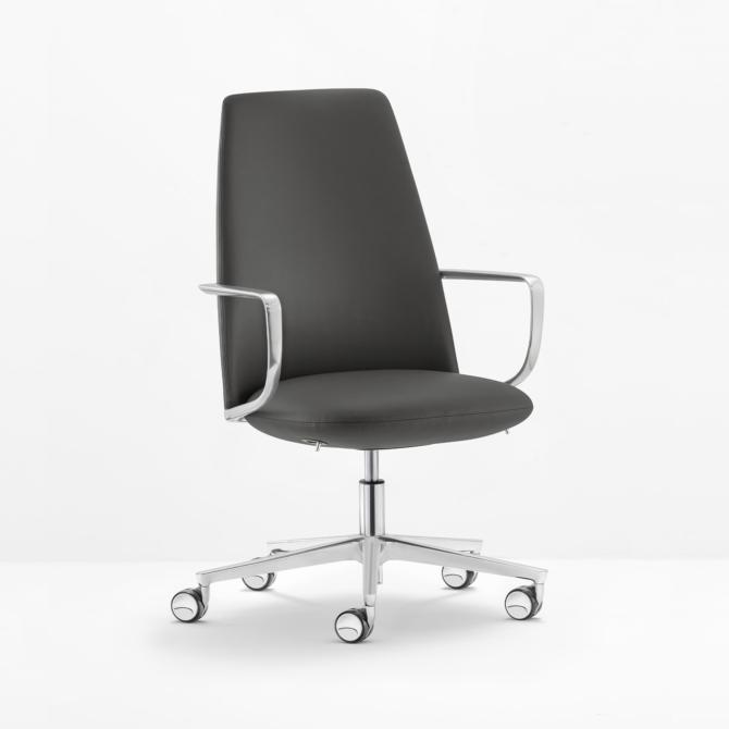 Cadeira de executivo PEDRALI Elinor 3755 preto