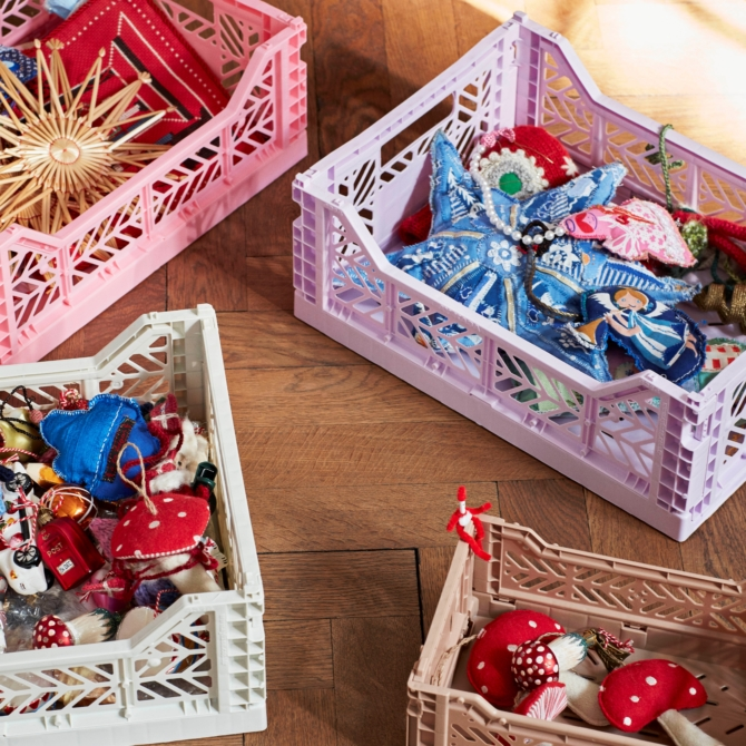 Caixas Hay Colour Crate assorted