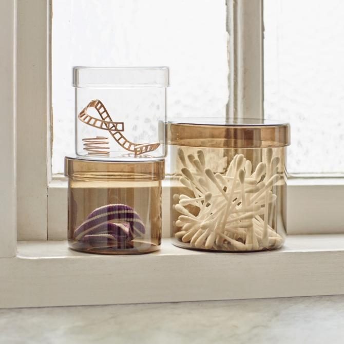 Hay Container Frasco vidro
