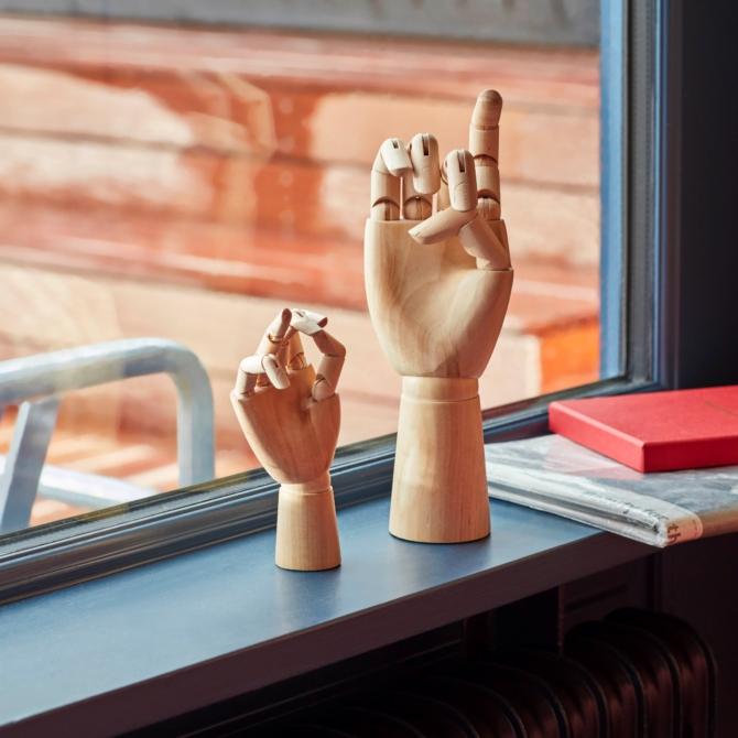 Mao articulada madeira Hay Wooden Hand