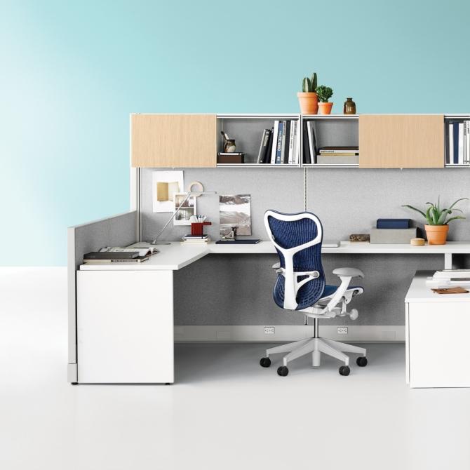 Action Office Mesas de escritorio HERMAN MILLER