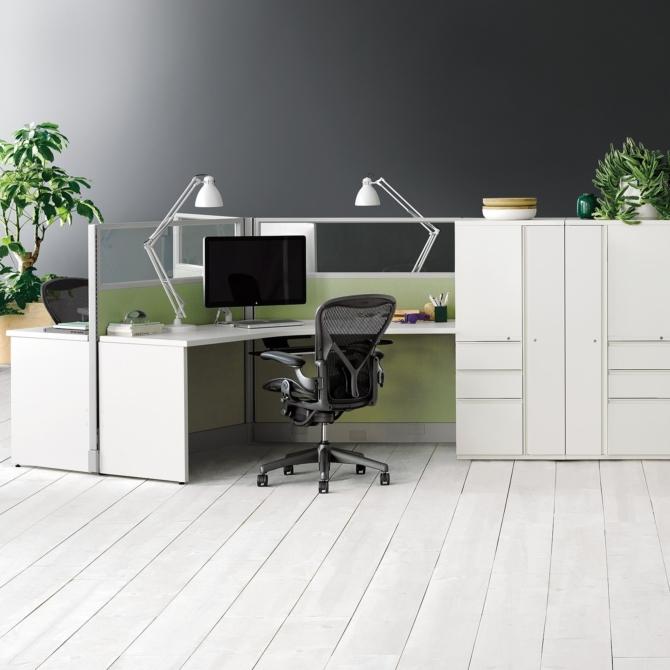 HERMAN MILLER Action Office Mesas de escritorio