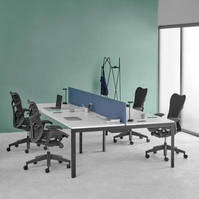 HERMAN MILLER Mesas de trabalho Layout Studio