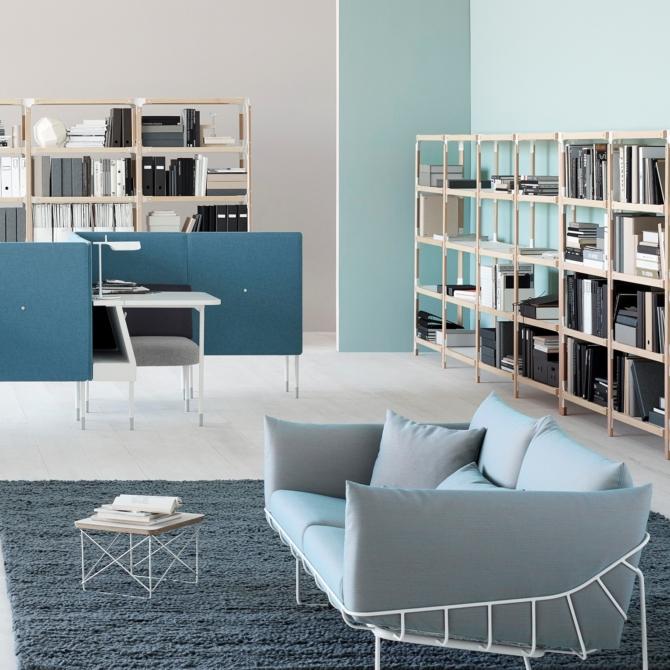 Herman Miller Wireframe Sofa para sala de estar