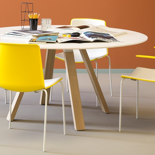 Mesa de trabalho PEDRALI ARKI TABLE ARK WOOD