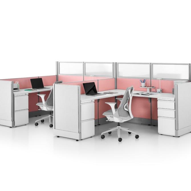 Mesas escritorio HERMAN MILLER Action Office