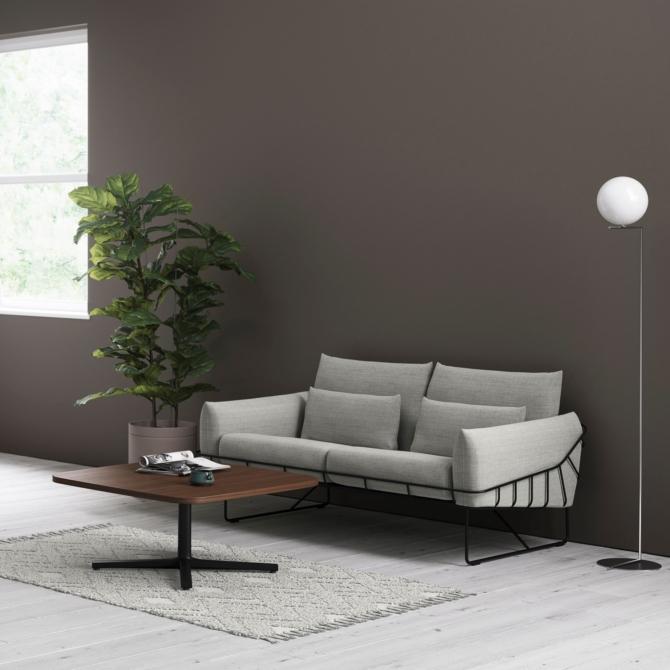 Sofa para sala de estar Herman Miller Wireframe