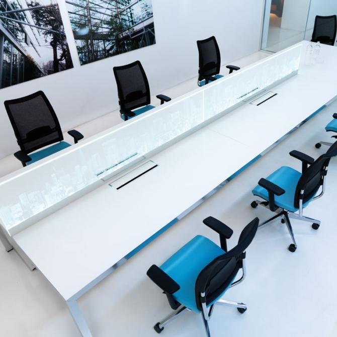 Cadeira para secretaria Luxy Overtime