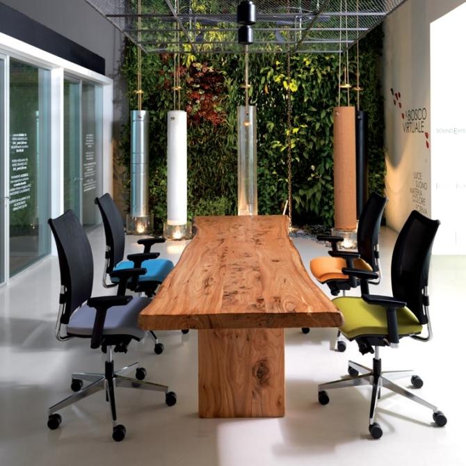 Cadeira para secretaria Luxy Overtime table