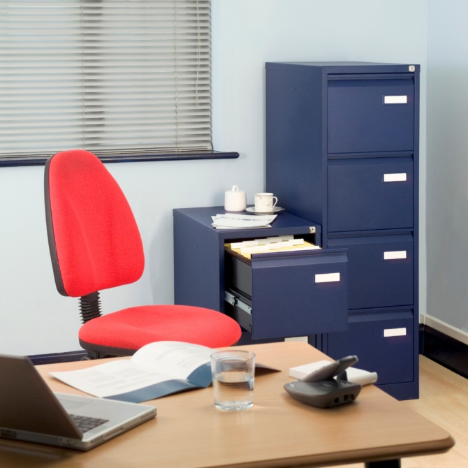 Arquivo de 4 gavetas BISLEY PFA4F office scaled