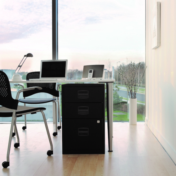 Arquivo de escritorio 3 gavetas BISLEY PFA3 scaled